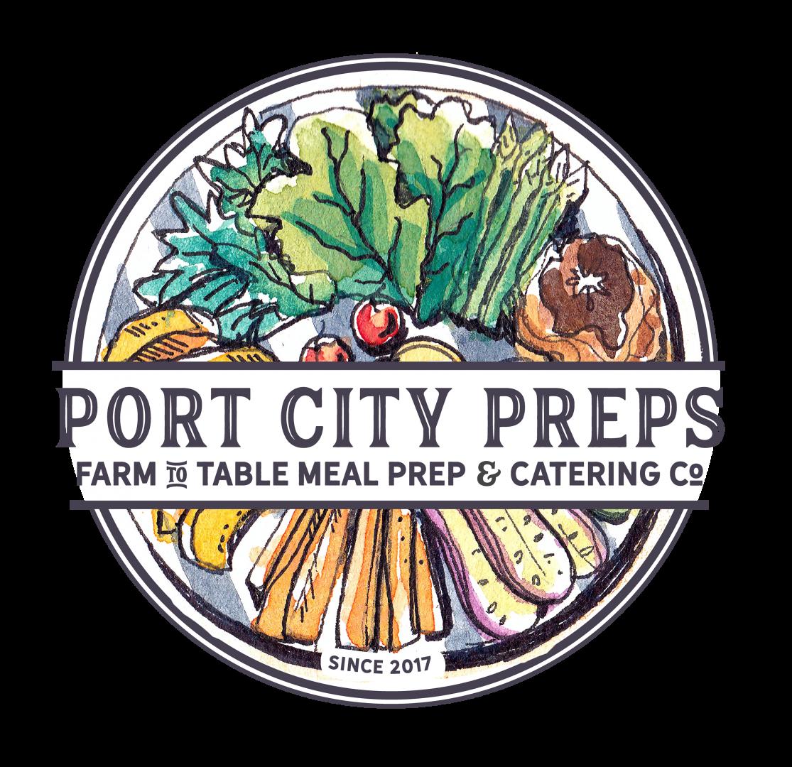 Port City Preps logo