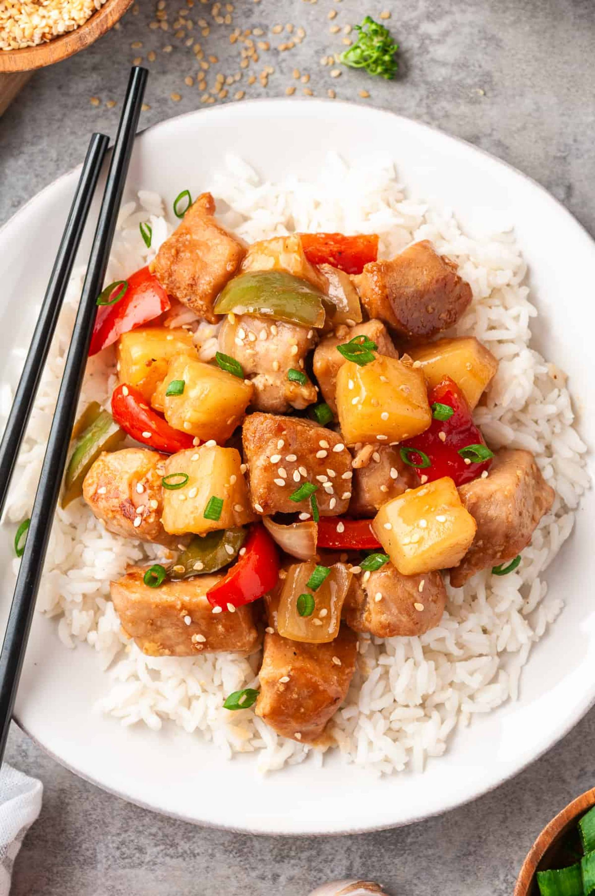 Sweet and Sour Pork Loin