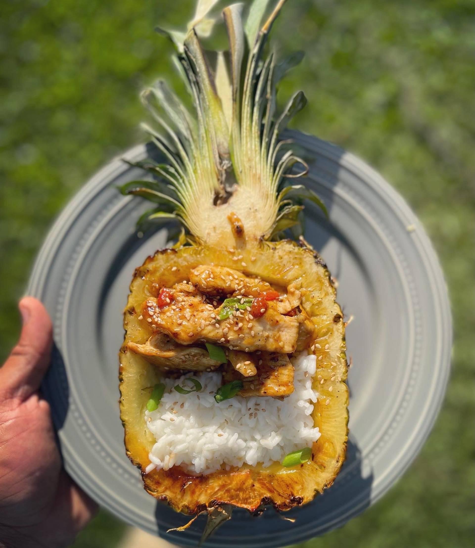Flyin Hawaiian Chicken Bowl