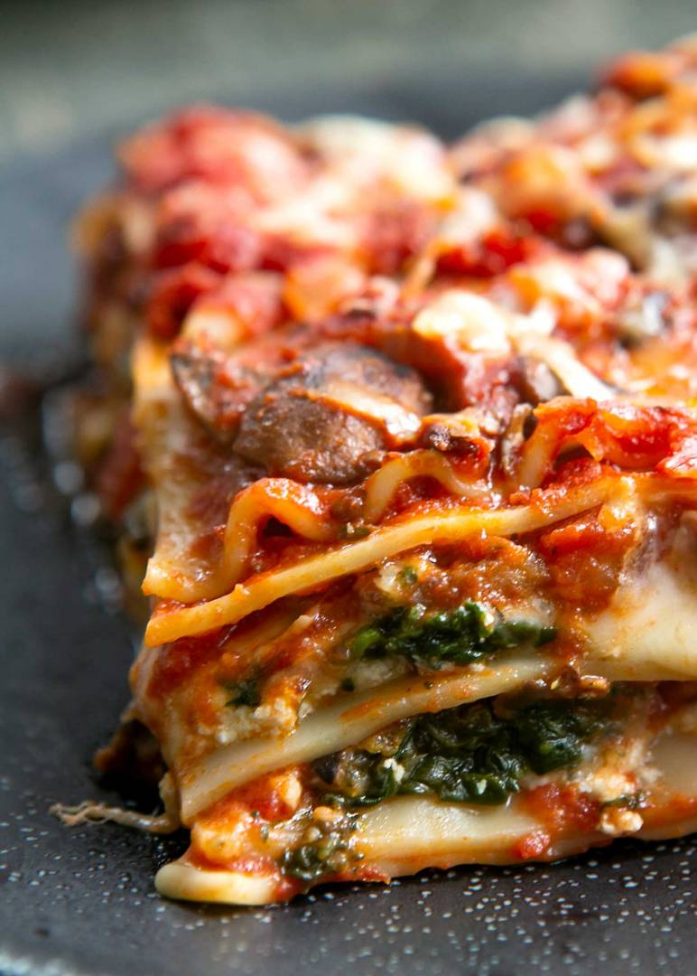 Loaded Veggie Lasagna (Family Portion)